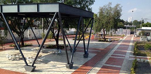 Inauguración 1a Etapa Plaza Villa de las Flores
