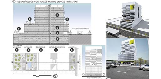 New urban schemes for housing developments in León