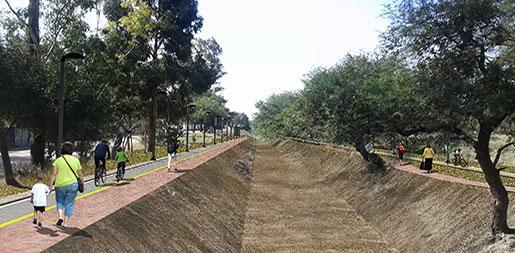 El Saltillo linear park