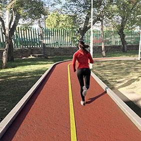 Renovación pista perimetral deportiva estado