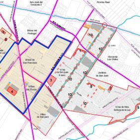 Estudio mejora urbana Villas de San Juan
