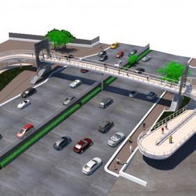 Puente peatonal IMSS T1