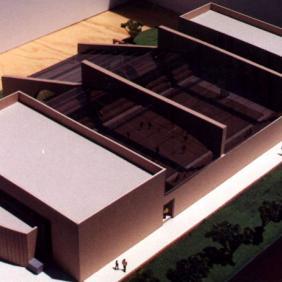 Auditorio y alberca Instituto Cumbres